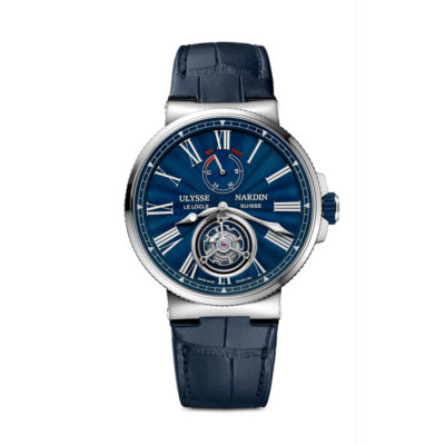 Marine Tourbillon Blue Grand Feu