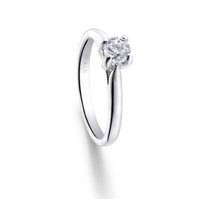 Flor de Loto Engagement Ring