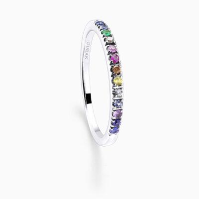 Durán Multicolor Stones Ring