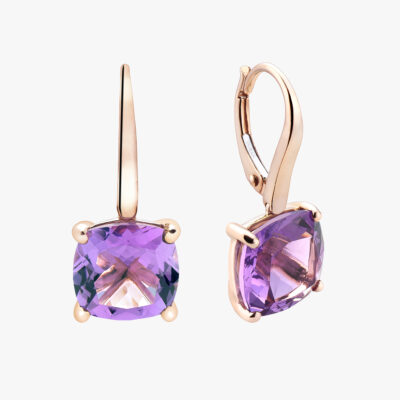 Durán Amethyst Earrings