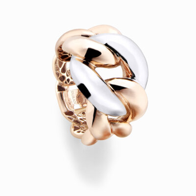 Durán Ring in Rose and White Gold